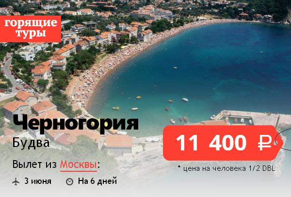 туры в черногорию из москвы горящие отличается туалетная